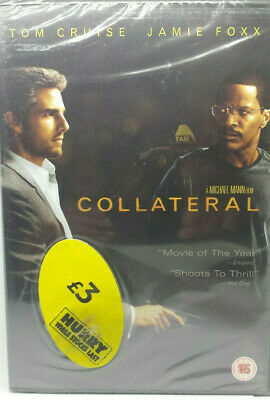 Collateral (DVD) Michael Mann directs NEW Sealed ☆ FREE FAST POST