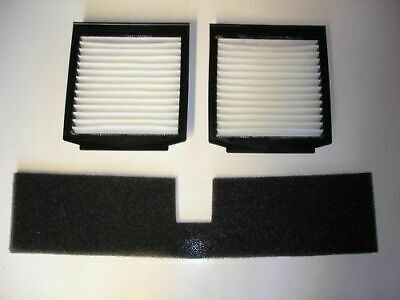 Foam & Pollen Filter Kit for Range Rover P38   BTR9548 & 2x LR030219