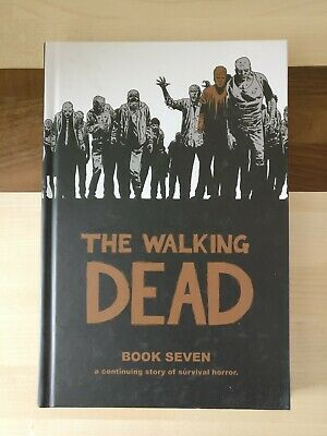 The Walking Dead Book Seven 7 Hardback great condition nearly new,