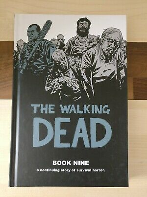 The Walking Dead Book Nine 9 Hardback great condition nearly new,