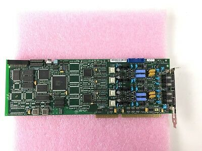 Dialogic D/41E 4-Port Voice Card 85-0552-002 ISA