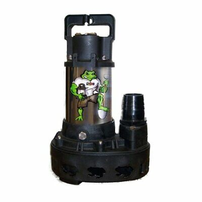 Anjon Big Frog 4200 GPH Submersible Pond Pump w/BONUS Floating Pond Thermometer
