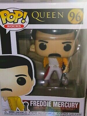 POP! Rocks: Queen - Freddie Mercury at Wembley 1986 Funko In Hand Ready to Ship