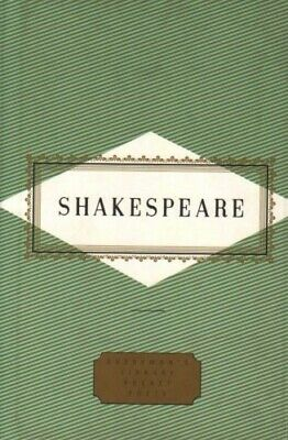 Poems (Everyman's Library Pocket Poets) - Very Good Book Shakespeare, William