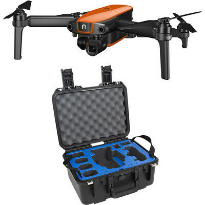 Autel Robotics - EVO Rugged Bundle Drone 3 Batteries with Remote - 110v-240v