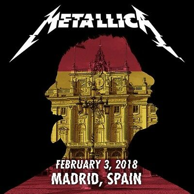 METALLICA / WorldWired Tour / Wizink Center, Madrid, Spain / February 03, 2018