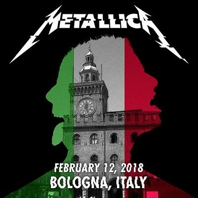 METALLICA / WorldWired Tour / Unipol Arena, Bologna, Italy / February 12, 2018