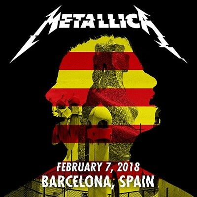 METALLICA / WorldWired Tour / Palau Sant Jodi, Barcelona, Spain / Feb. 07, 2018