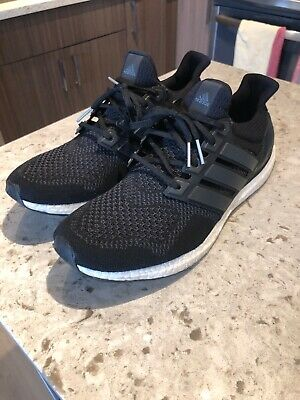 528602cc3e796 ADIDAS A16+ ULTRABOOST Sz 12.5 Black White MultiColor Men s Running ...