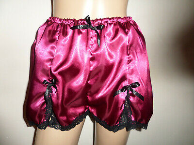 Adult Baby Frilly  Pink Satin   Sissy Collar  White Lace Trim Satin  Bows
