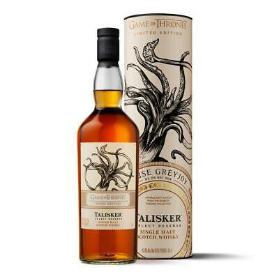 Talisker Select Reserve Haus Greyjoy Graufreud Game of Thrones Whisky 45.8% 700