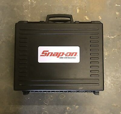 Snap On ARC 140 Inverter Welder Hardly Been Used in Excellent Condition! Lot8