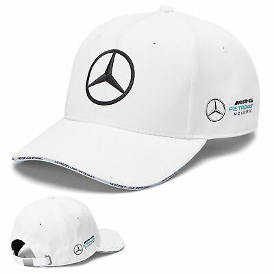 2019 Mercedes-AMG F1 Formula 1 WHITE Team Cap by Tommy Hilfiger Adult One Size
