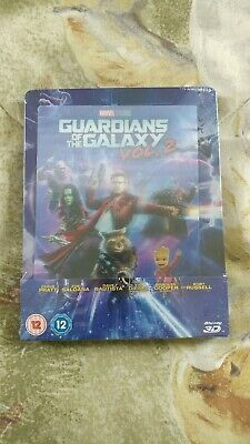 Guardians of the Galaxy Vol. 2 (3D + 2D Blu-ray Steelbook) LENTICULAR BRAND NEW