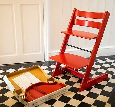 Stokke Tripp Trapp high chair - Red including Baby set