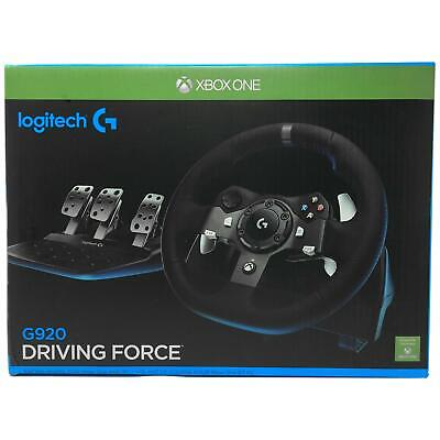 LOGITECH G920 DRIVING Force Racing Wheel and Pedals for XBOX