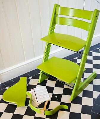 Stokke Tripp Trapp - Green, including Baby Set