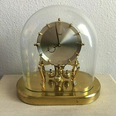 Vintage KUNDO Oval Dome Mantle Clock Made in Germany