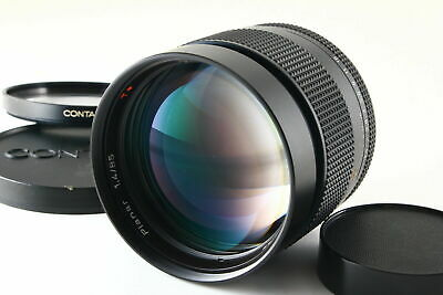 [AB- Exc] CONTAX Carl Zeiss Planar 85mm f/1.4 T* AEG Lens Caps From JAPAN 5522