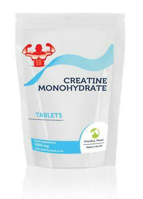 Creatine Monohydrate 1000mg x90 Tablets Letter Post Box Size