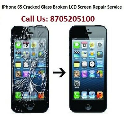 iPhone 6S Cracked Glass Broken LCD Screen Repair Service (6 Months Warranty)