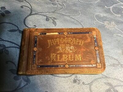 Antique Autograph book from the 1880's