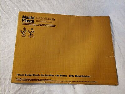 MastaPlasta Self-Adhesive Patch for Leather and Vinyl Repair, XL Plain, Dark Bwn