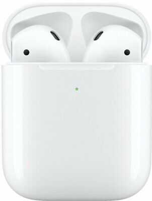 NEW! Apple AirPods 2nd Generation with Wireless Charging Case - White, MRXJ2AM/A