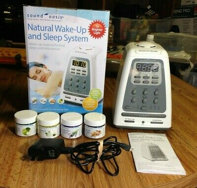 Sound Oasis Natural Wake-Up and Sleep System Aromatherapy Alarm Clock BLS-100SO