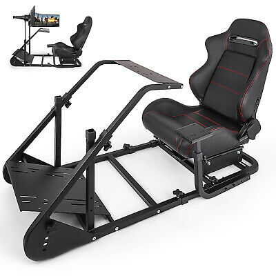 Racing Simulator Cockpit RS6 For Logitech G920 G27 Thrustmaster T500RS T300RS
