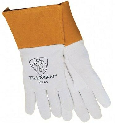 "Tillman 25B Medium TIG Welding Gloves Premium Deerskin Leather w/ 4"" Cuff 1 Pair"
