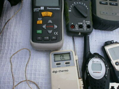 Bundle HVAC product including thermometers