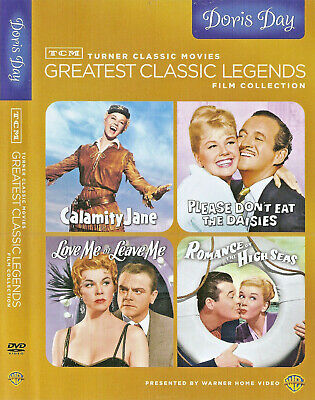 Doris Day: TCM Greatest Legends(4-DVD set, 2012) Calamity Daisies Seas Leave Me