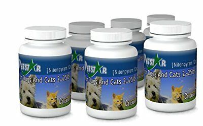 12ct Petstar Nitenpyram 11.4 mg for Cats Dogs 2-25 lbs NEW 4 Day Shipping 0 Tax!