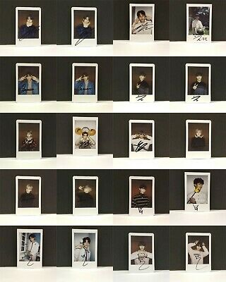Stray Kids Official Goods Polaroid Unveil Op.02 I am WHO / 03 I am YOU / Tour