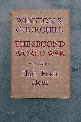 Their Finest Hour by Winston S Churchill (Hardback, 1949)