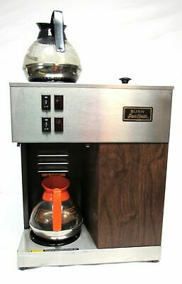 BUNN VPR POUROVER COFFEE BREWER DUAL WARMERS With Decanters