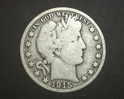 1915-S Barber Half-Dollar   Good-Plus      6~395058-Lb6Ra15