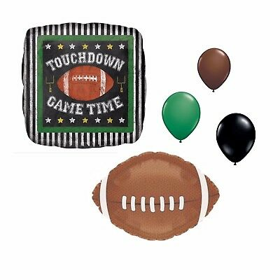 055fbb3d 12 FOOTBALL SUPERBOWL Tailgate Game Day Party Decorations LATEX ...