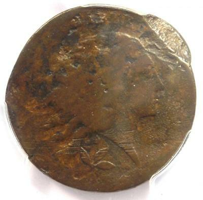 1793 Flowing Hair Wreath Cent 1C - Certified PCGS Good Detail - Rare Coin!