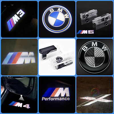 Cree Led Bmw Projector M Car Door Lights Shadow Lamp Courtesy Puddle Laser Logo
