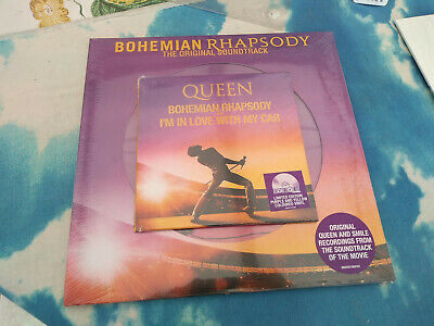 """Queen - Bohemian Rhapsody Rsd Set Picture Disc 2Lp & 7"""" Record Store Day 2019#"""