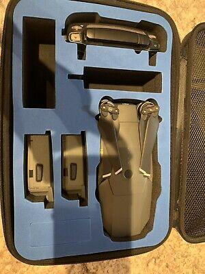 DJI Mavic Pro Drone W/ 3 Batteries And Carrying Case