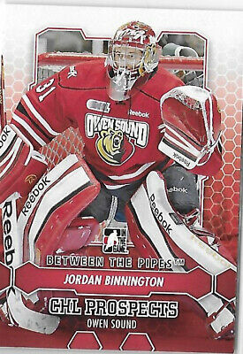 Jordan Binnington St Louis Blues 2012-13 ITG Between the Pipes Base Card # 45