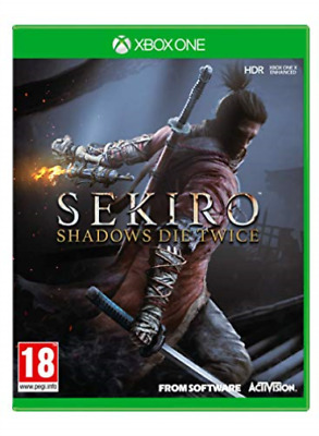 Microsoft Xbox One-SEKIRO SHADOWS DIE TWICE GAME NUOVO