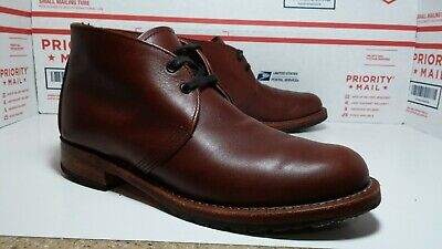 64f6811efa7ad RED WING HERITAGE 9017 Beckman Chukka Boots Brown Mens 8.5 - READ LISTING -