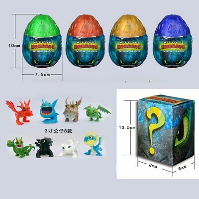 How to Train Your Dragon Random egg Light Fury Toothless Action figure Hiccup