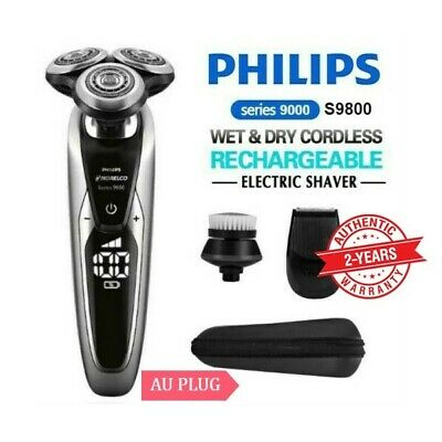 PHILIPS Norelco Series 9800 Wet and Dry Electric Shaver Cordless Beard Trimmer
