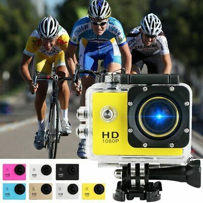 4K 2'' Ultra HD 1080P Sports WiFi Cam Action Camera DV Video Recorder 12MP GoPro