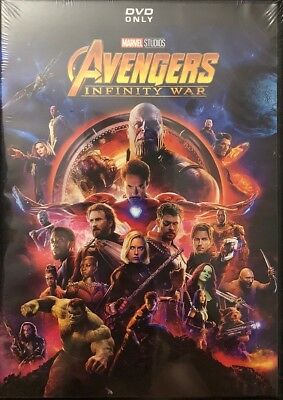 Marvel's: Avengers Infinity War DVD - Free USPS Shipping